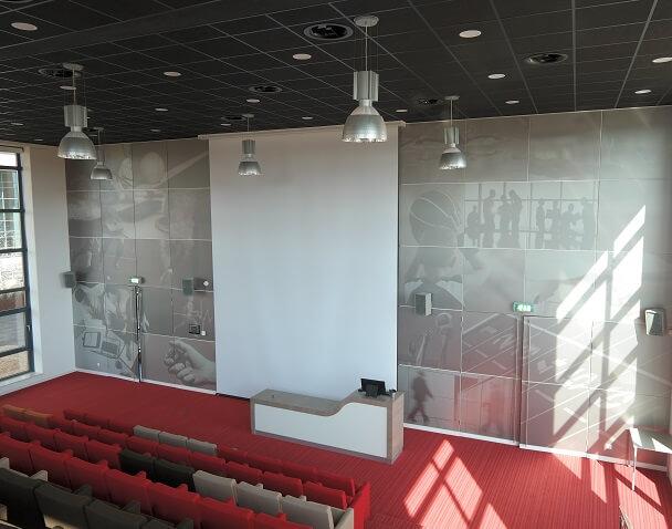 Elektrische-projectieschermen