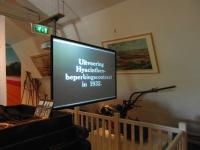 Nieuw projectiesysteem voor Museum de Zwarte Tulp in Lisse