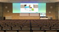 Tilburg University blij met groot Macada Flexibel spanscherm